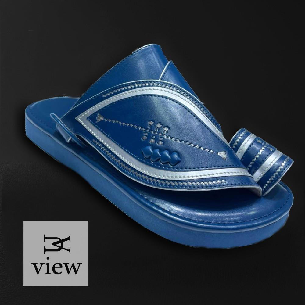 حذاء شرقي كحلي V526