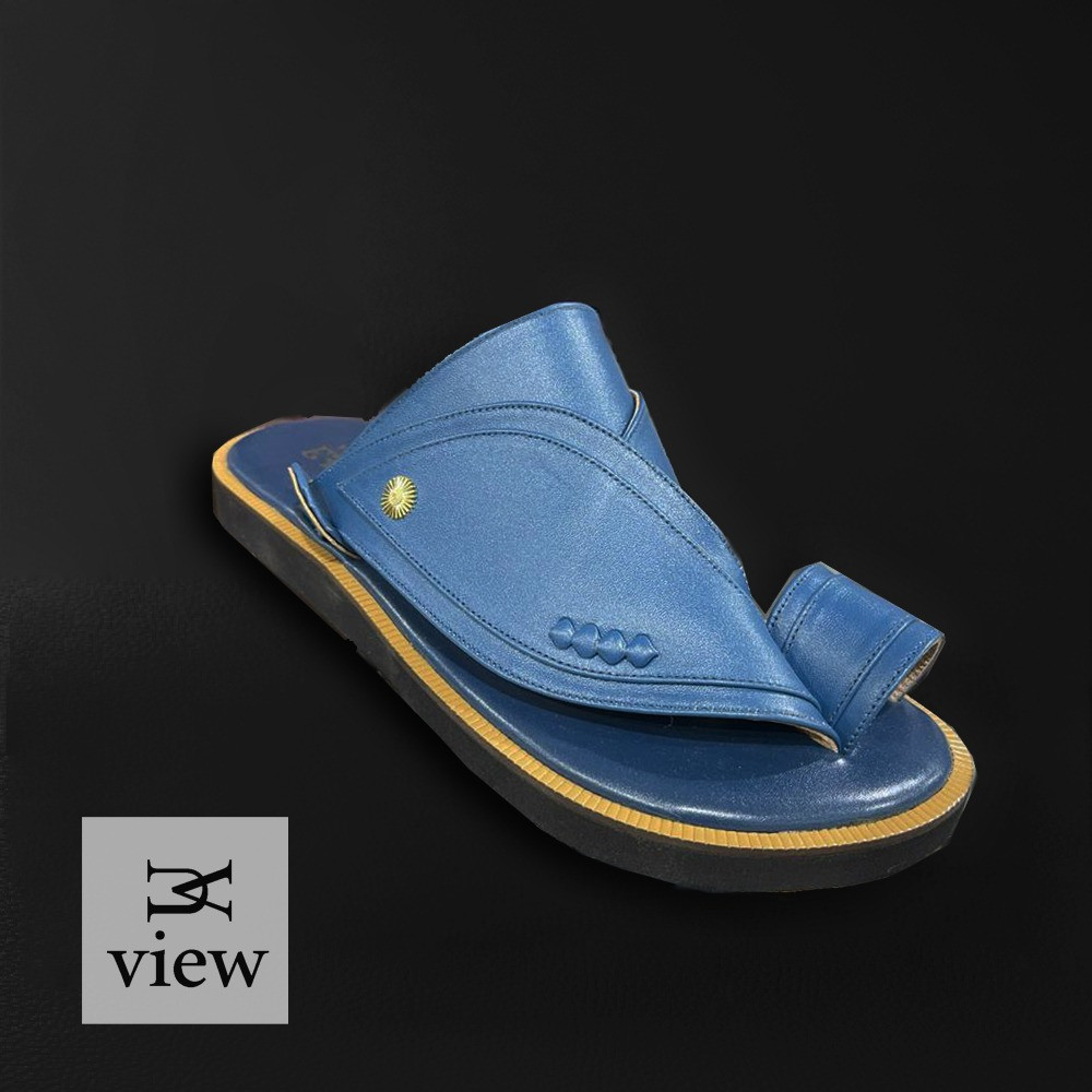 حذاء شرقي ازرق سادة V521