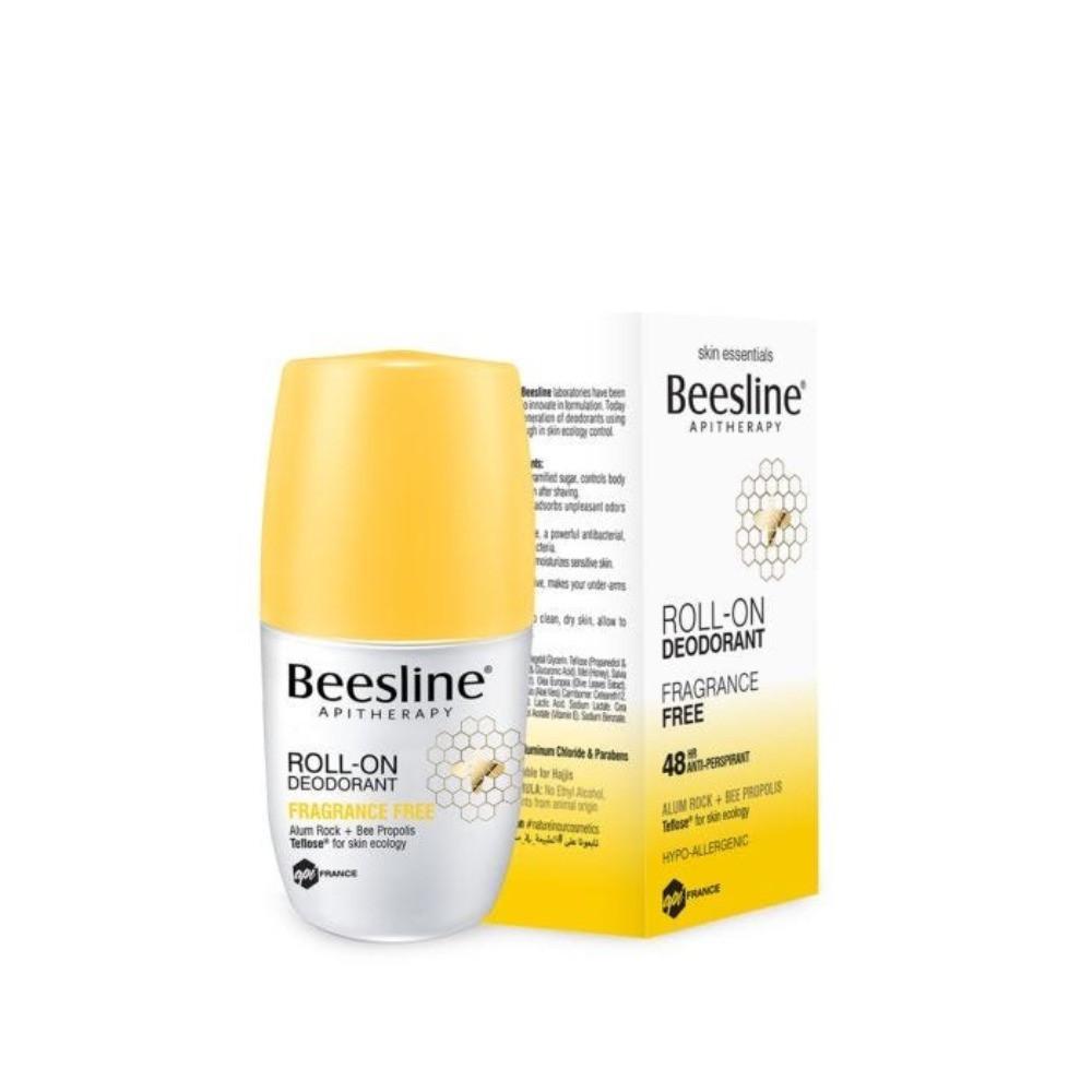 مزيل العرق بيزلين Beesline مزيل عرق بالشبة و بشمع النحل خالي من الرائح
