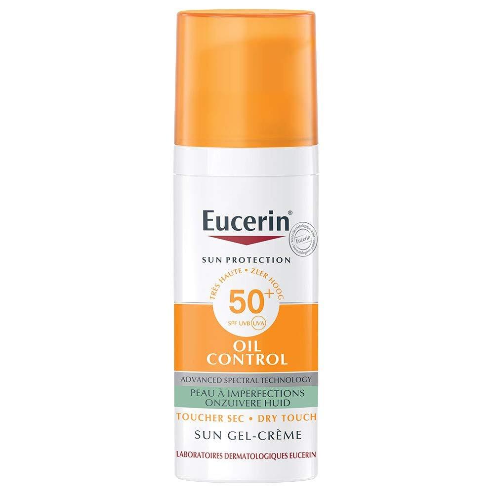 كريم وجل الحماية من أشعة الشمس مع عامل حماية 50 من يوسرين Eucerin