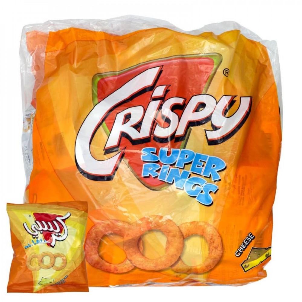 كريسبي حلقات الجبنة 12جم 23 حبة متجر الإبداع
