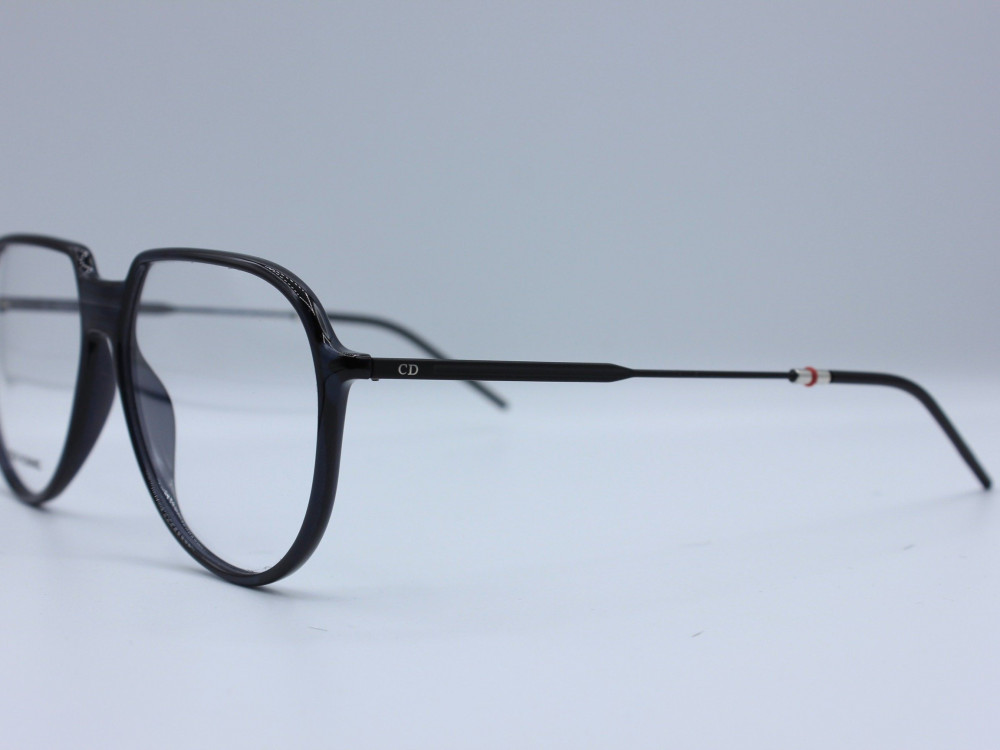 نظارة طبية ماركة DIOR نسائية تصميم الإطار بيضاوي مصنوعة من بلاستيك
