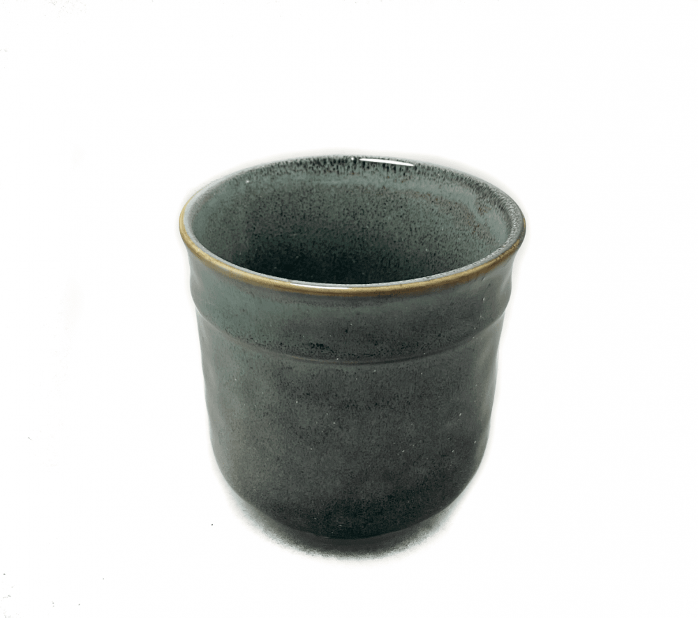 كوب قهوة سيراميك باللون الاخضر 250 ملي