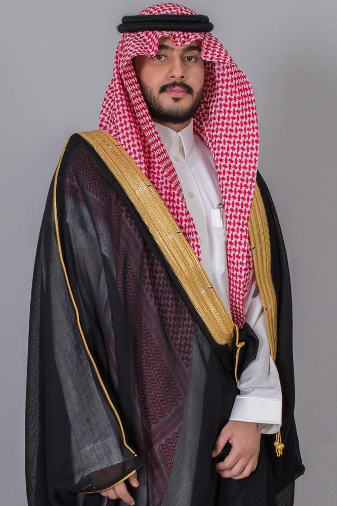 بشت مشلح ملكي اسود مصوف غاط