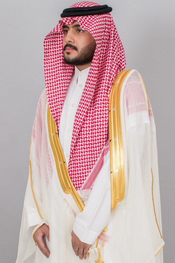 بشت مشلح ابيض ملكي نجفي ياباني