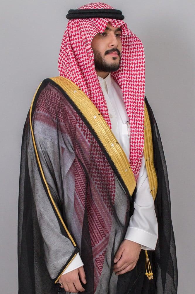 بشت مشلح اسود ملكي نجفي  ياباني غاط