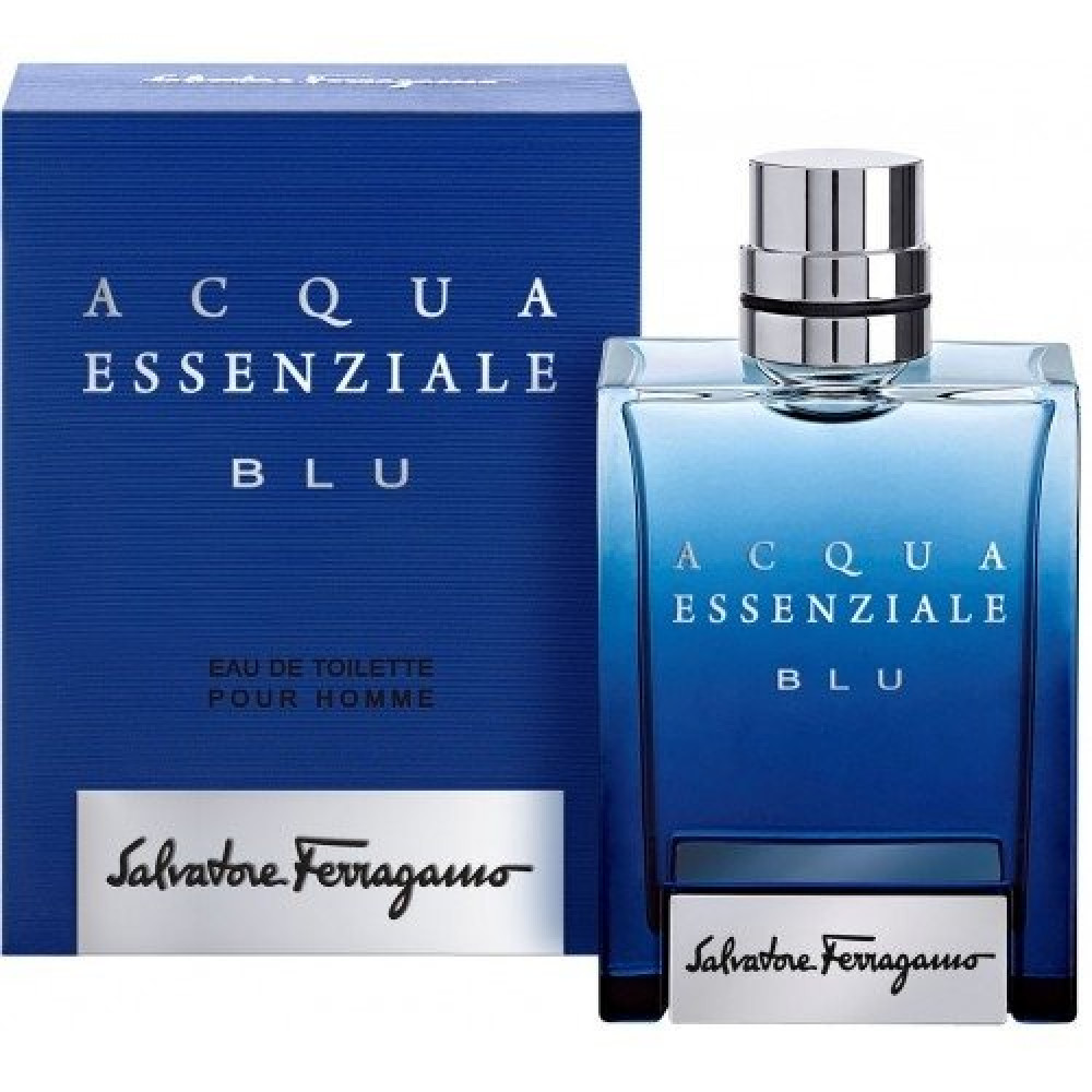 Salvatore Ferragamo Acqua Essenziale Blu 100ml متجر خبير العطور