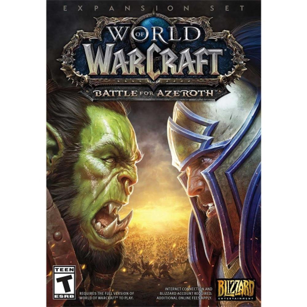 لعبة WORLD OF WARCRAFT BATTLE FOR AZEROTH على منصة باتل نيت Battlenet