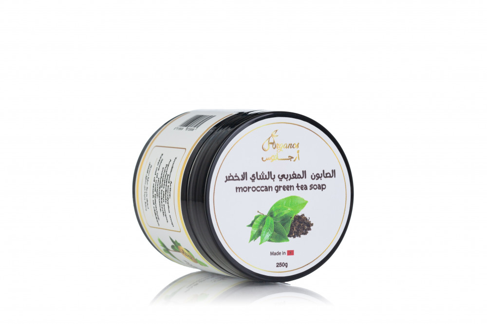 صابون مغربي بالشاي الاخضر