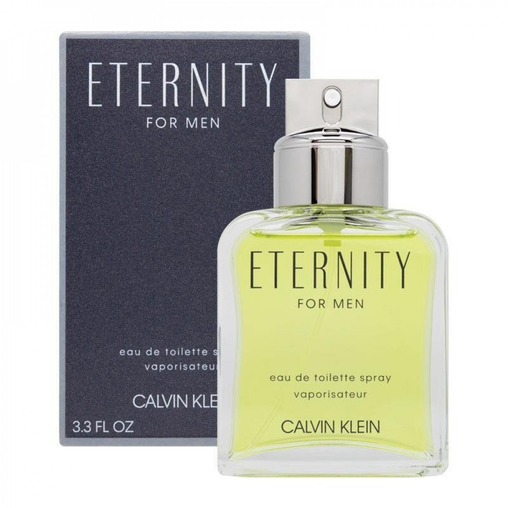Eternity for men by Calvin Klein for men Eau de Toilette 100ml