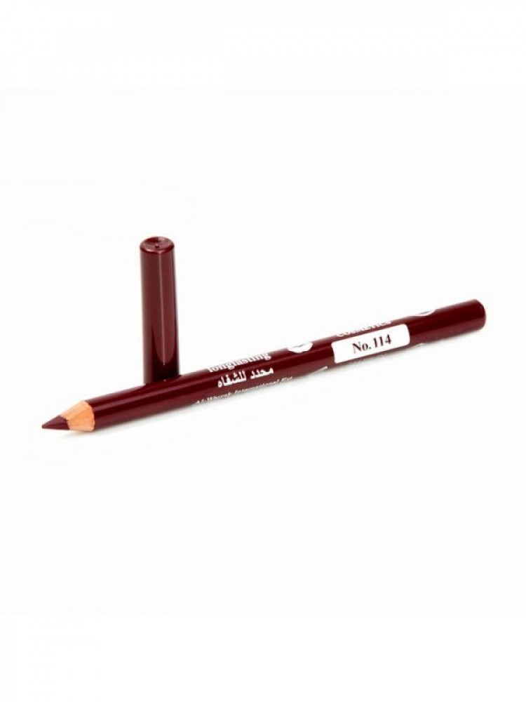قلم تحديد شفايف طويل الامد من جيسيكا 114 عنابي