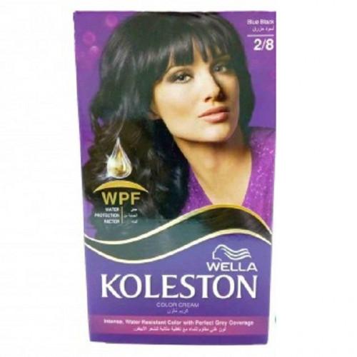 صبغة الشعر كوليستون 2 8 أسود مزرق من ويلا Wella Koleston Hair Dye Kit 2 8 Blue Blackk ربوع الميدان Rube Almmidan
