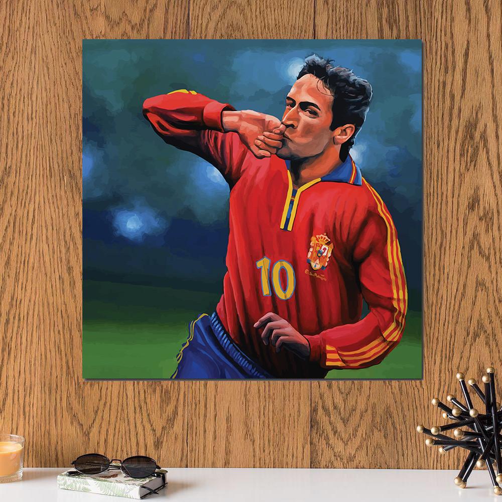 لوحة راؤول غونزاليز خشب ام دي اف مقاس 30x30 سنتيمتر