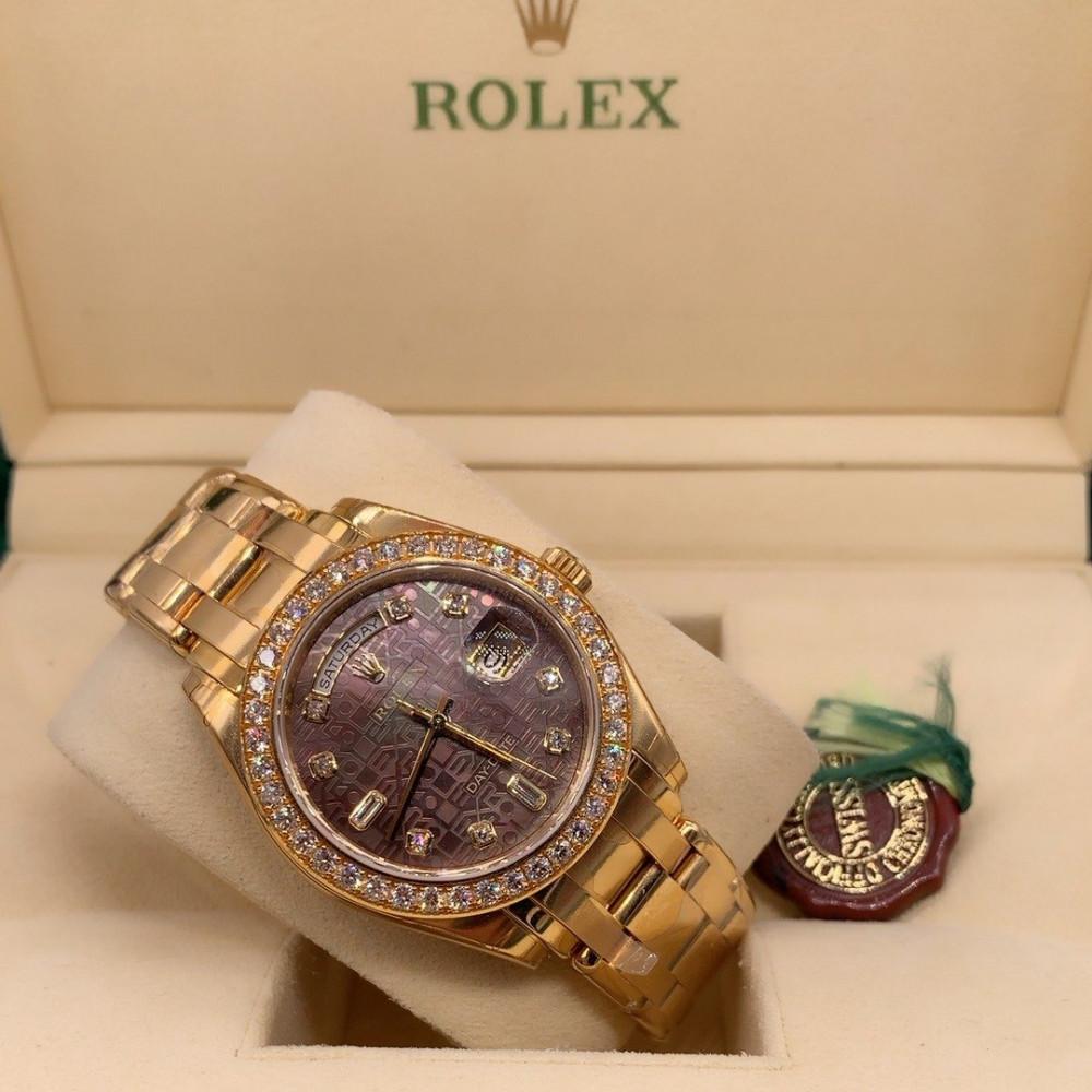 ساعة رولكس داي ديت الأصلية الفاخرة 18948