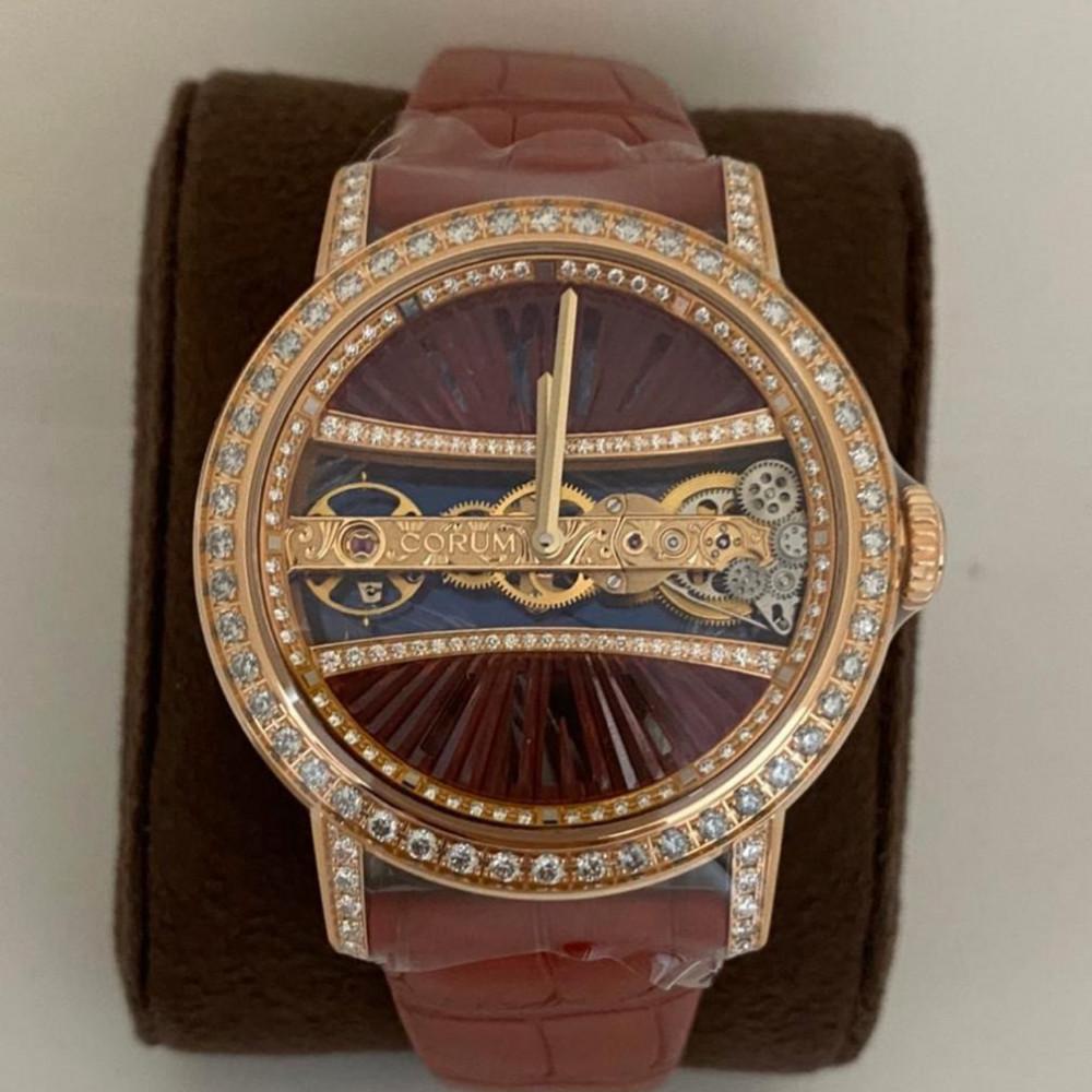 ساعة كورم قولدن بردج راوند الأصلية الفاخرة