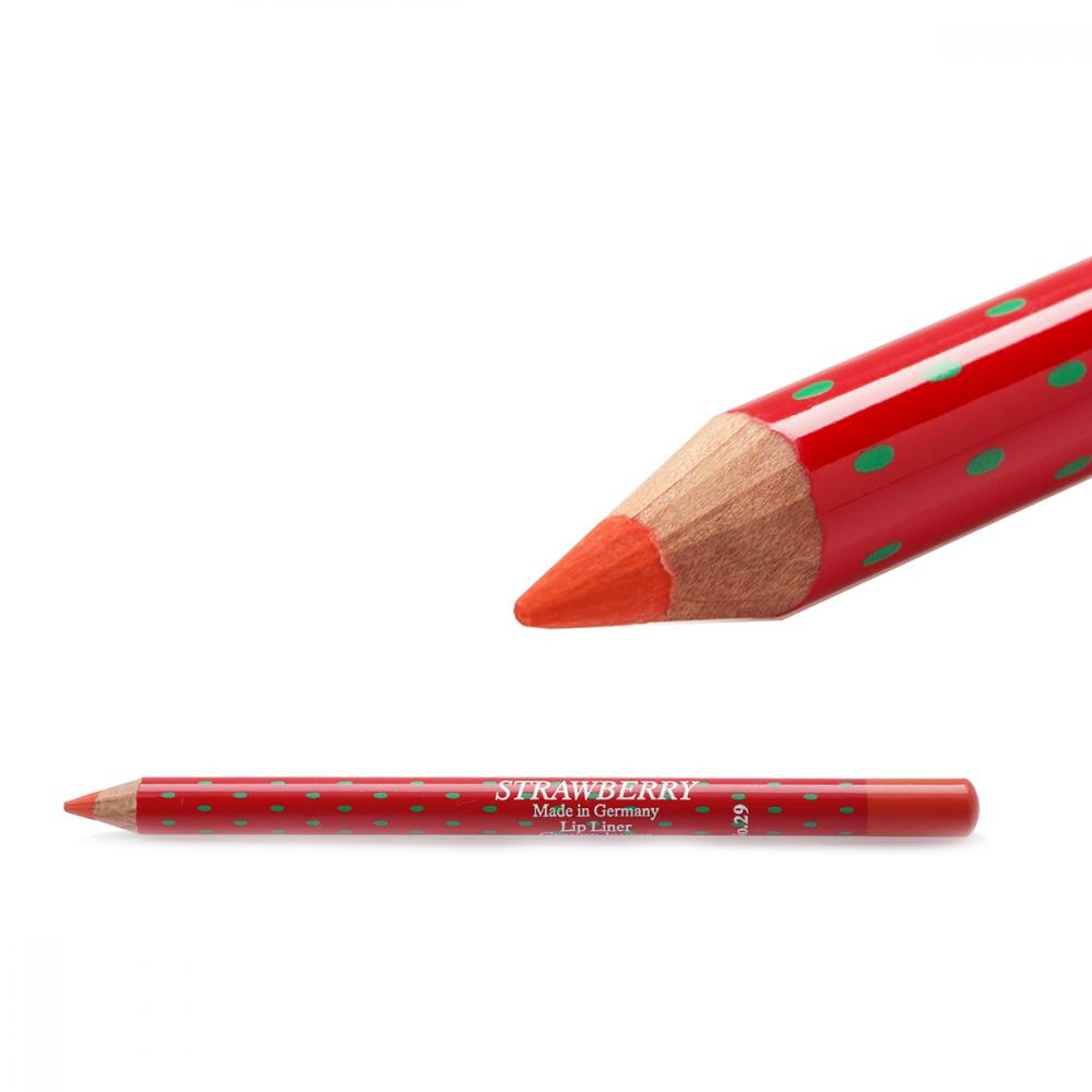 Strawberry  Lip Liner Pencil No-29