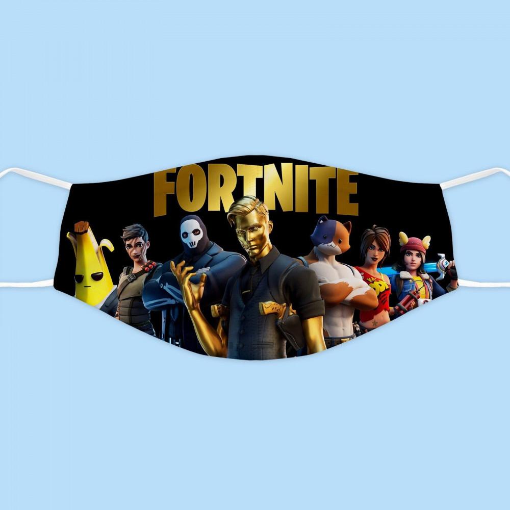 كمامة قماشية فورتنايت facemask fortnite