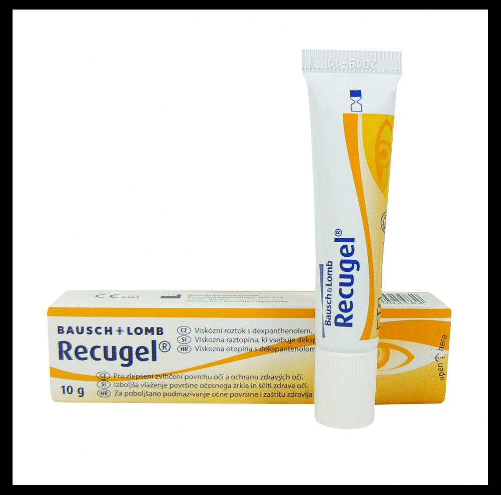 جل ركيوجل 10 جرام لترطيب العين Recugel له تأثير منعش ومريح على العيون غيداء الطبيه متجر إلكتروني