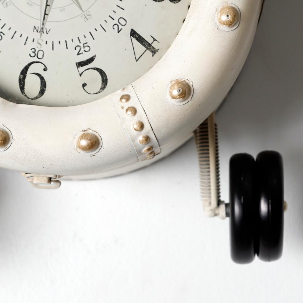 جودة الصناعة ساعة حائط أنتيكة موديل بلان فايف شكل طائرة صناعة معدنية