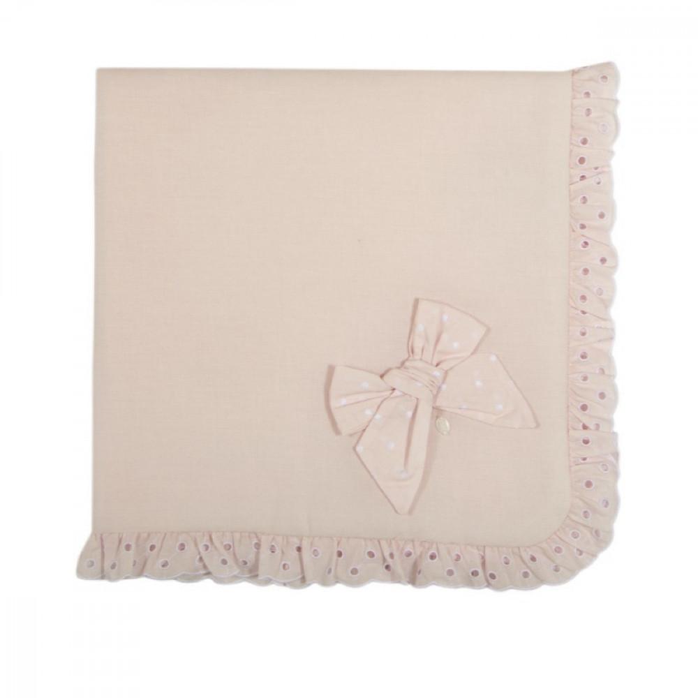 بطانية باللون الزهري من ماركة  Patachou من دوها