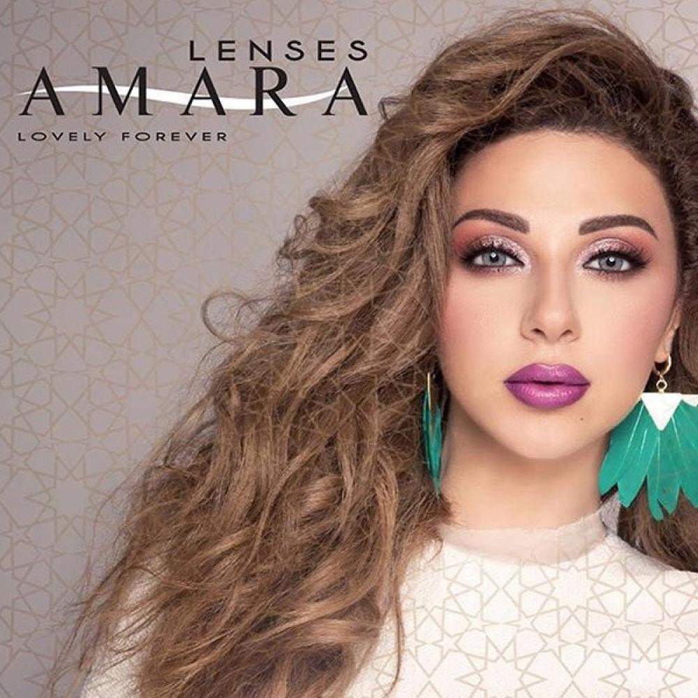 عدسات امارا Amara lenses تجميلية جميع الألوان شهرية