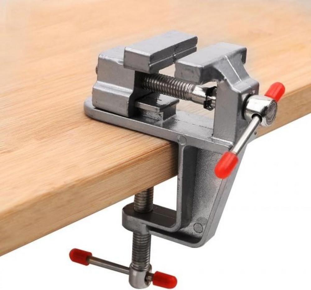 ملزمة طاولة من الألمنيوم لتثبيت القطع لاعمال الدقيقة