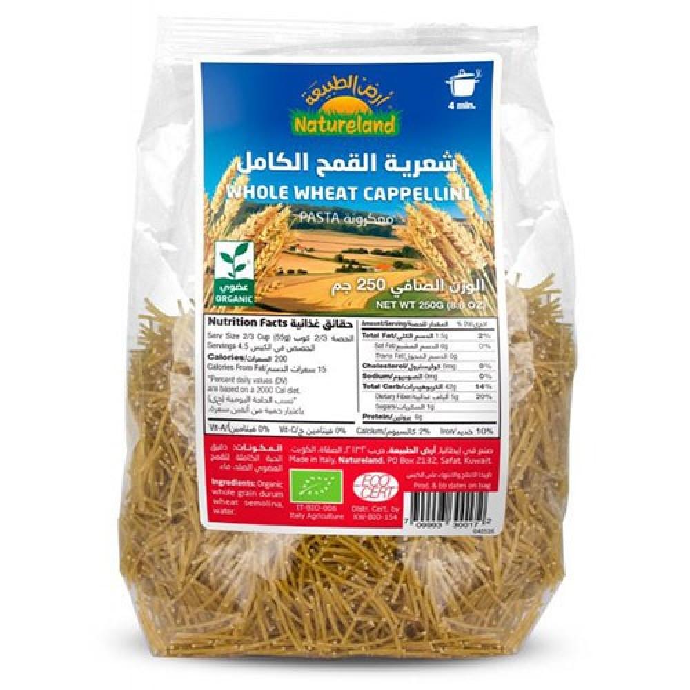 شعيرية القمح الكامل عضوي من أرض الطبيعة