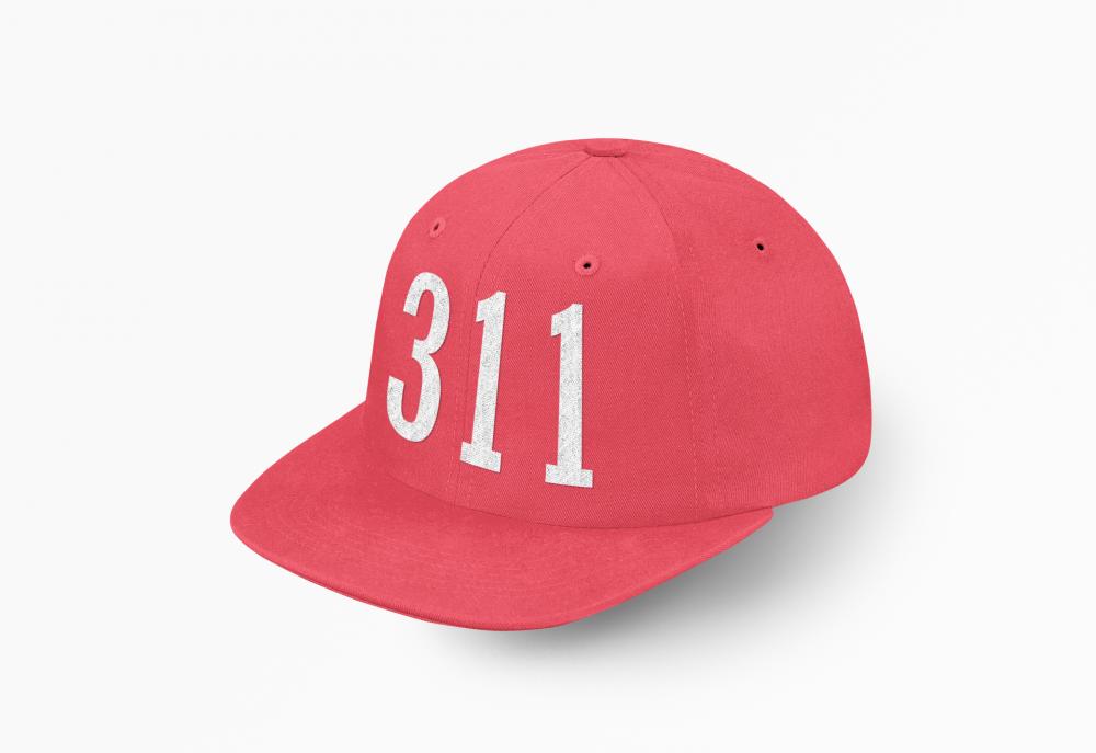 كاب 311 المسارحه احمر