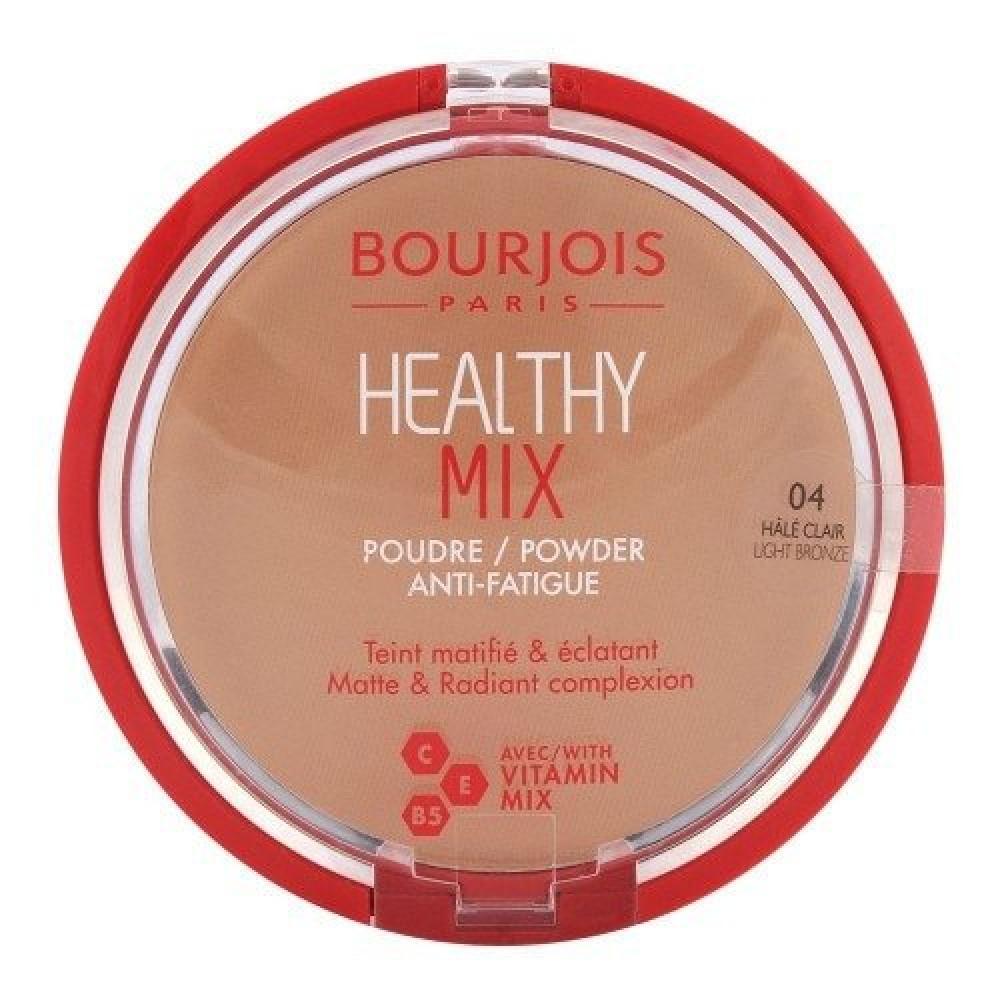 Bourjois Healthy Mix Powder No 04 Light Bronze 11g متجر خبير العطور