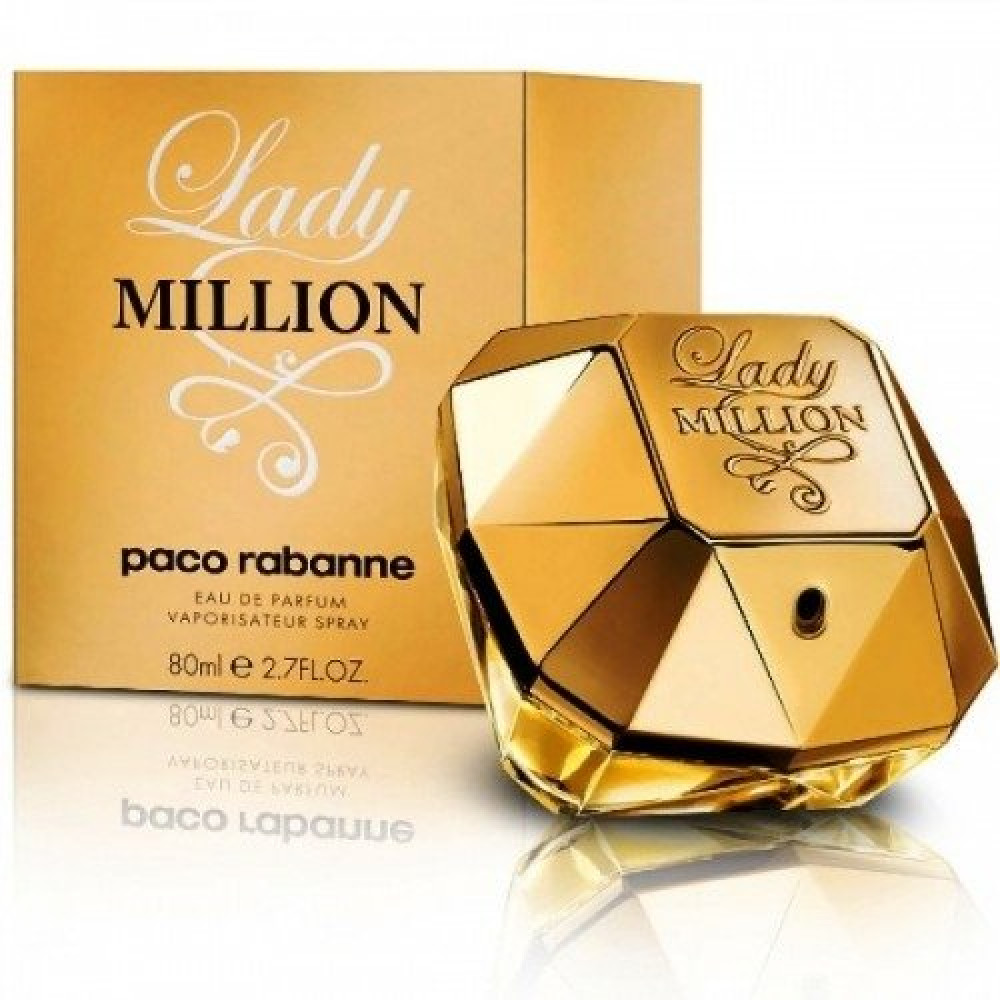 Paco Rabanne Lady Million Eau de Parfum 80ml خبير العطور