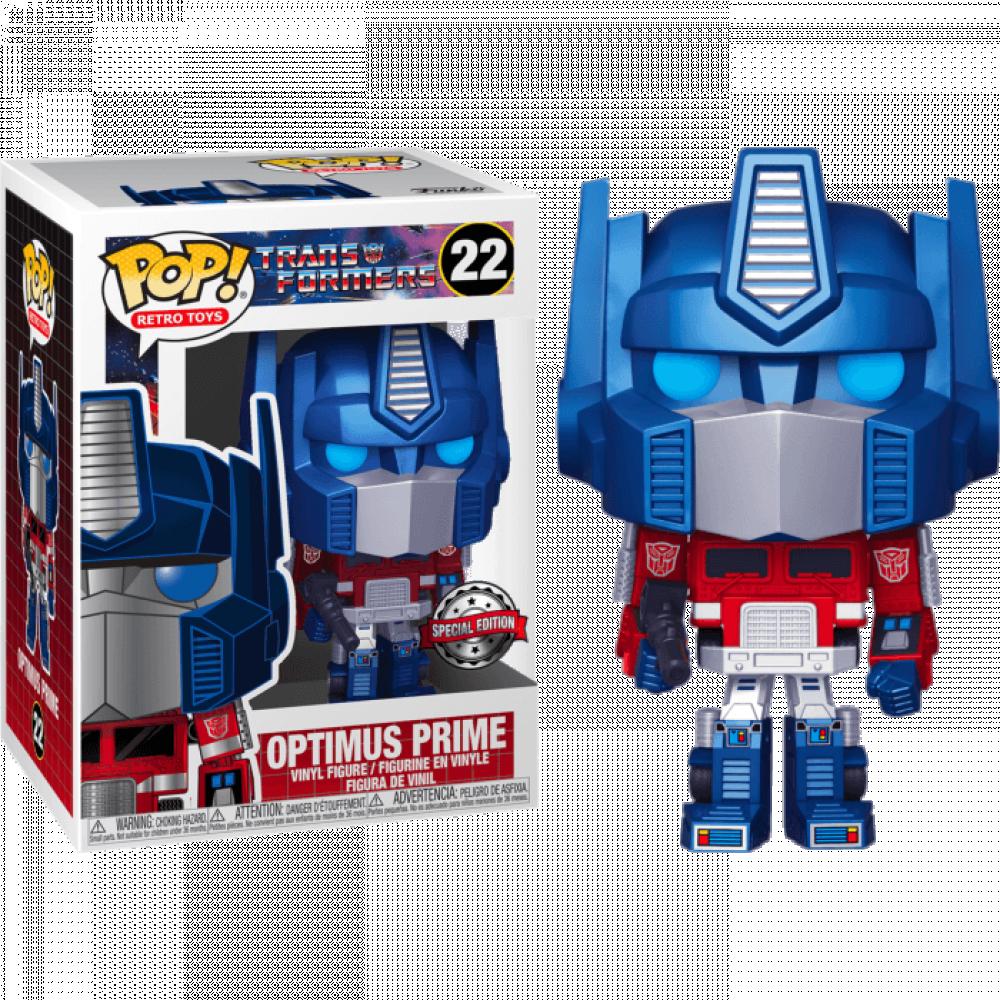 Transformers- Optimus Prime metallic
