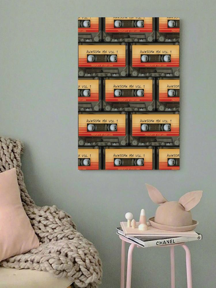 لوحة كاسيت خشب ام دي اف مقاس 40x60 سنتيمتر