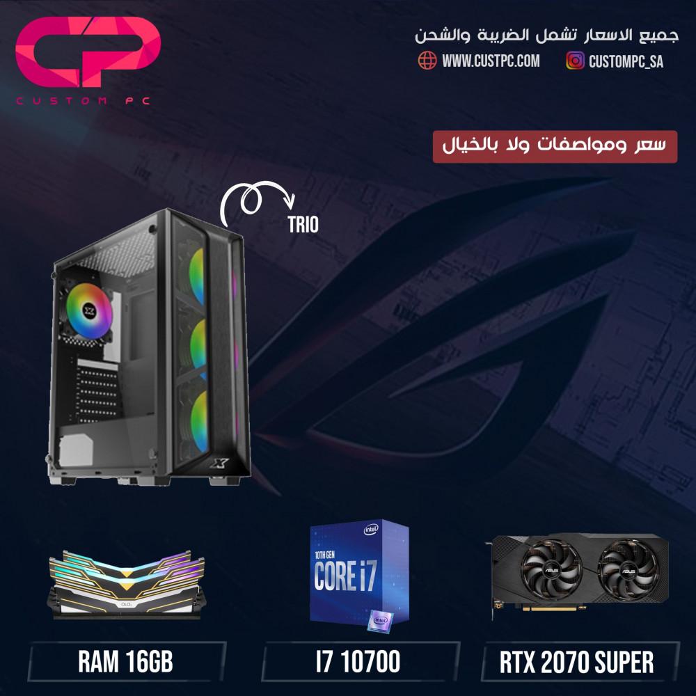 i7 10700 RTX 2070 SUPER تجميعة كمبيوتر PC GAMING
