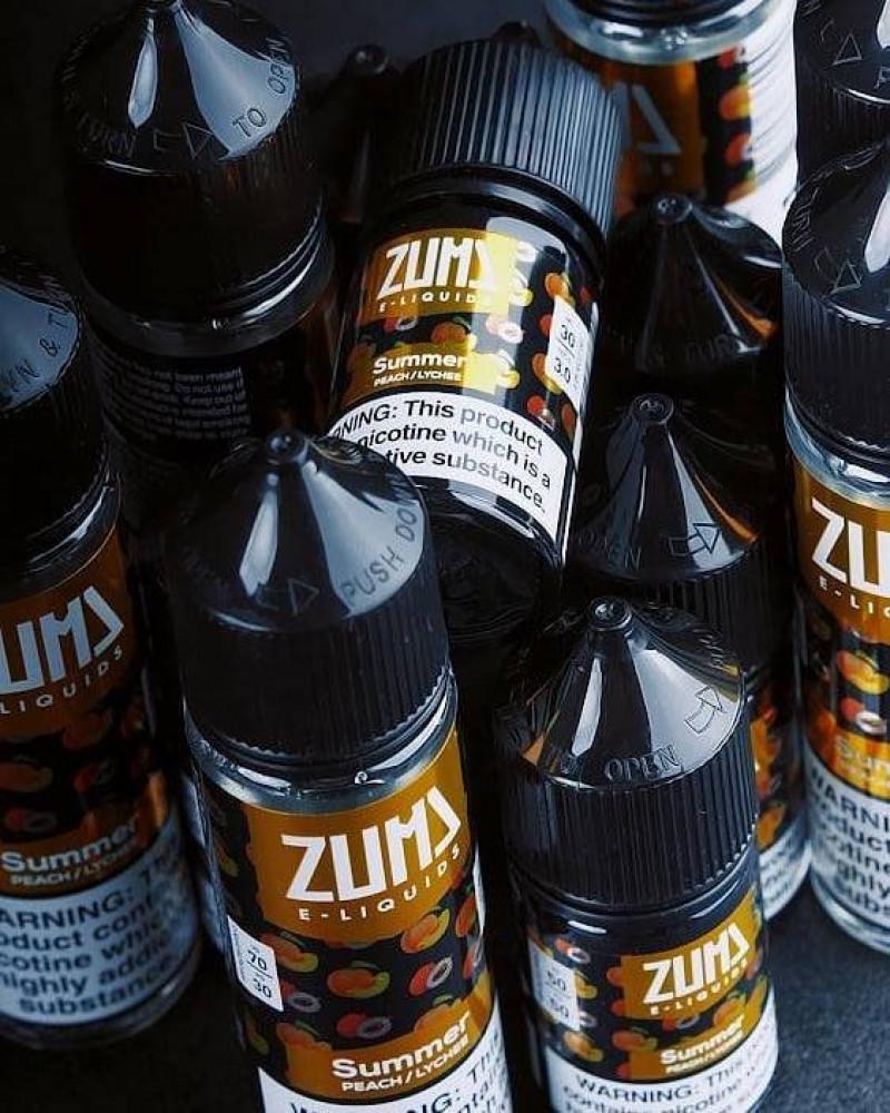 نكهة زوما سمر خوخ وفاكهة الليتشي سولت نيكوتين ZUMA Summer BEACH LYCHE