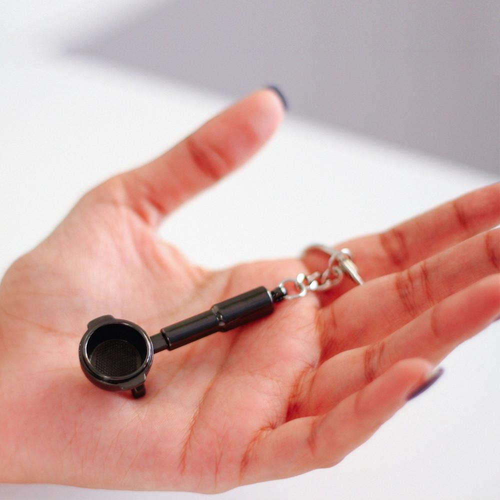 ميدالية مفاتيح لعشاق  اسبريسو ميداليات أدوات القهوة هدية رجالية نسائية