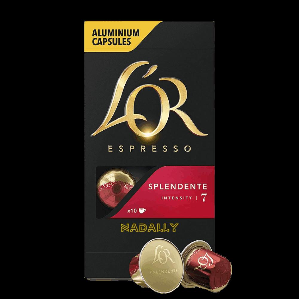 LOR قهوة لور سبليندينت كبسولات نسبريسو الأصلية Nespresso