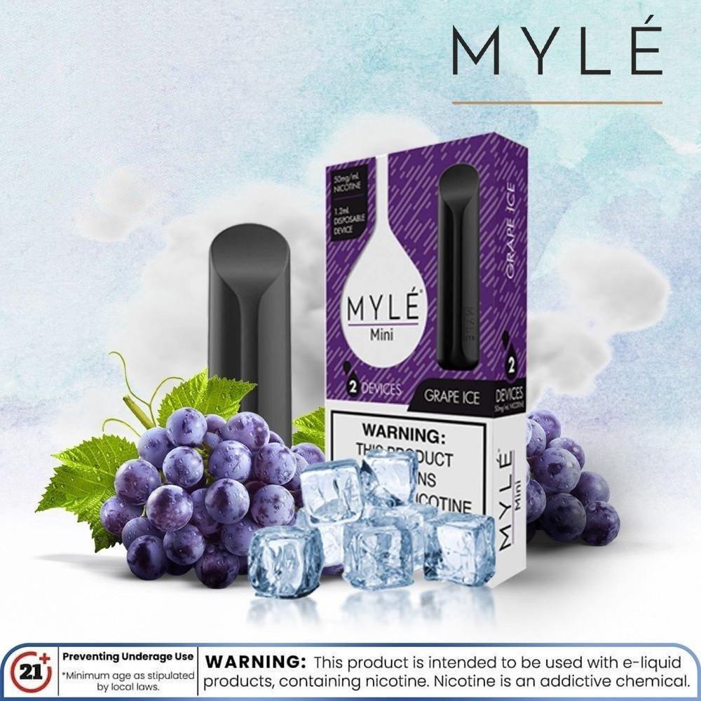 مايلي ميني بنكهة عنب ايس - MYLE Mini Grape ICE