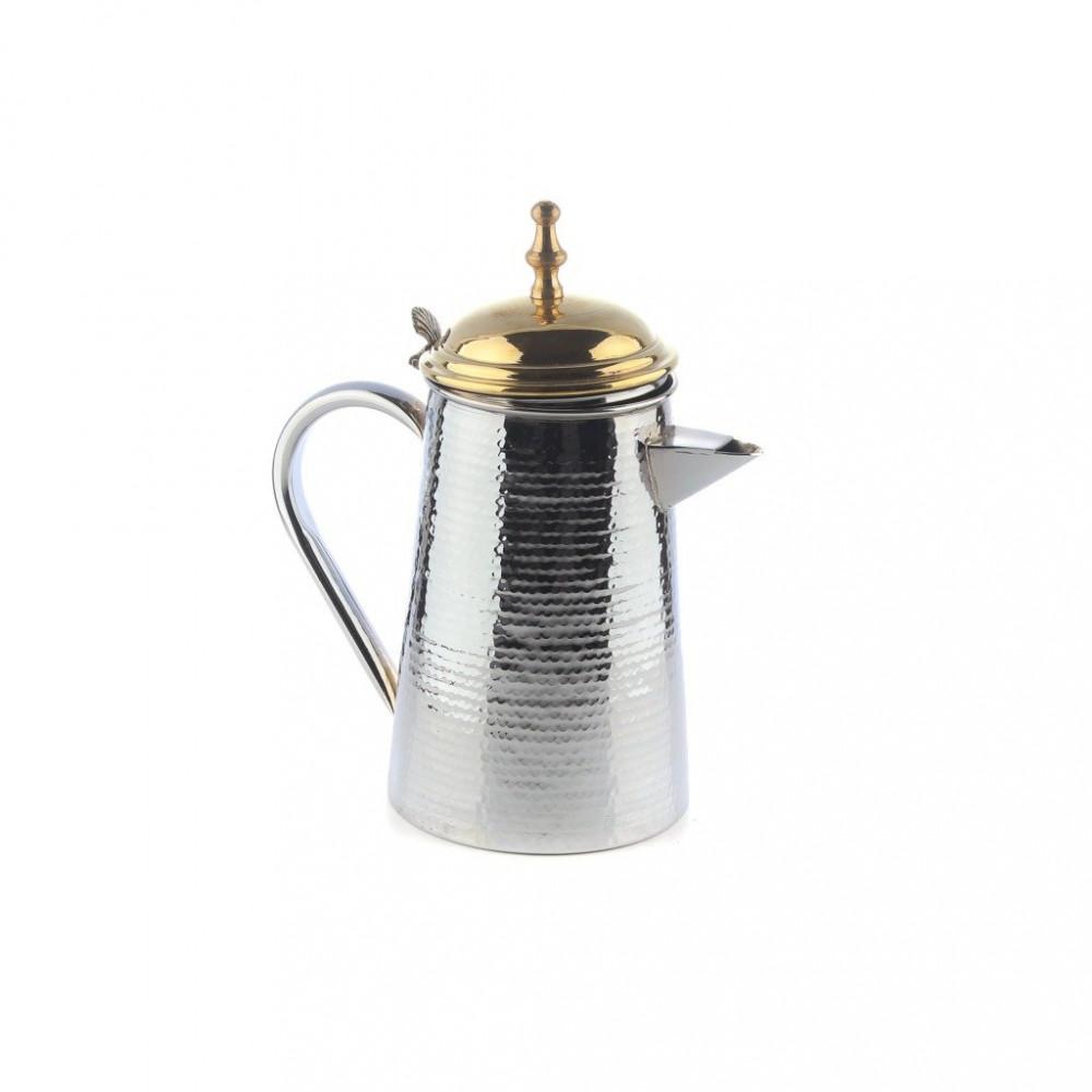 مفواح حليب فضي غطاء ذهبي م3