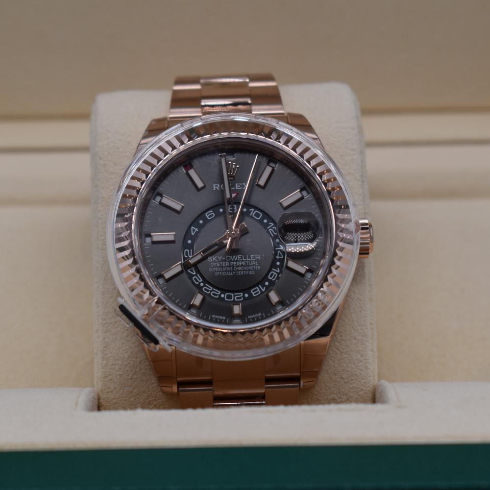 ساعة رولكس سكاي دويلر اصلية ثمينة