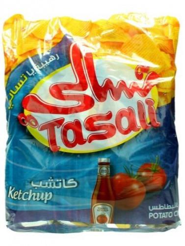 Buy Tasali Ketchup Potato Chips 180 G Online Shop Food Cupboard On Carrefour Saudi Arabia