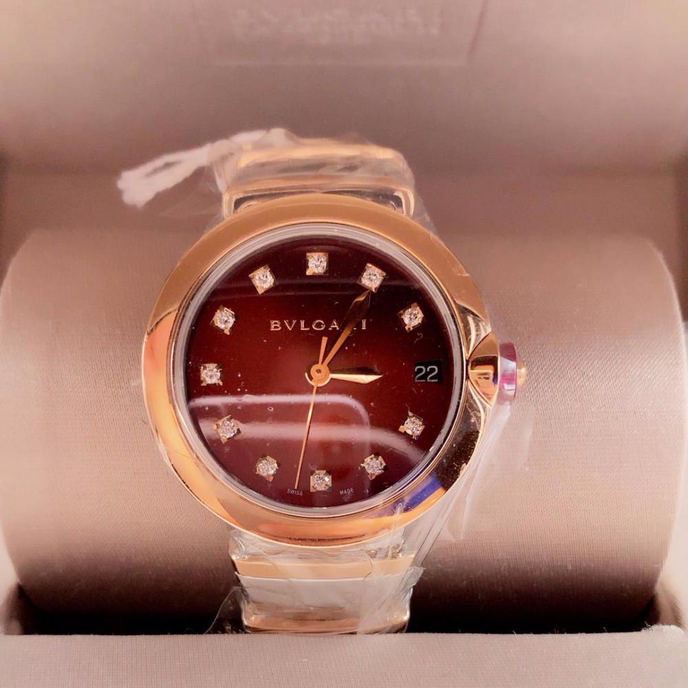 ساعة بولغري لوسيا الأصلية جديدة