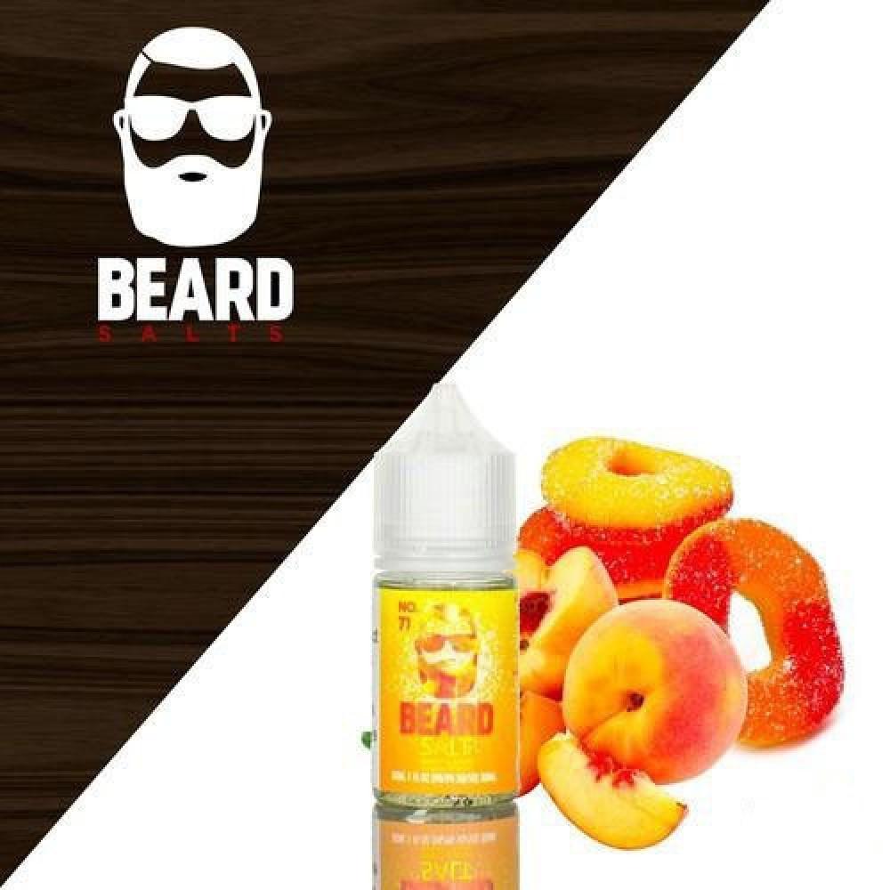 نكهة بيرد 71 سولت نيكوتين - No 71 BEARD VAPE CO - Salt Nicotine - فيب