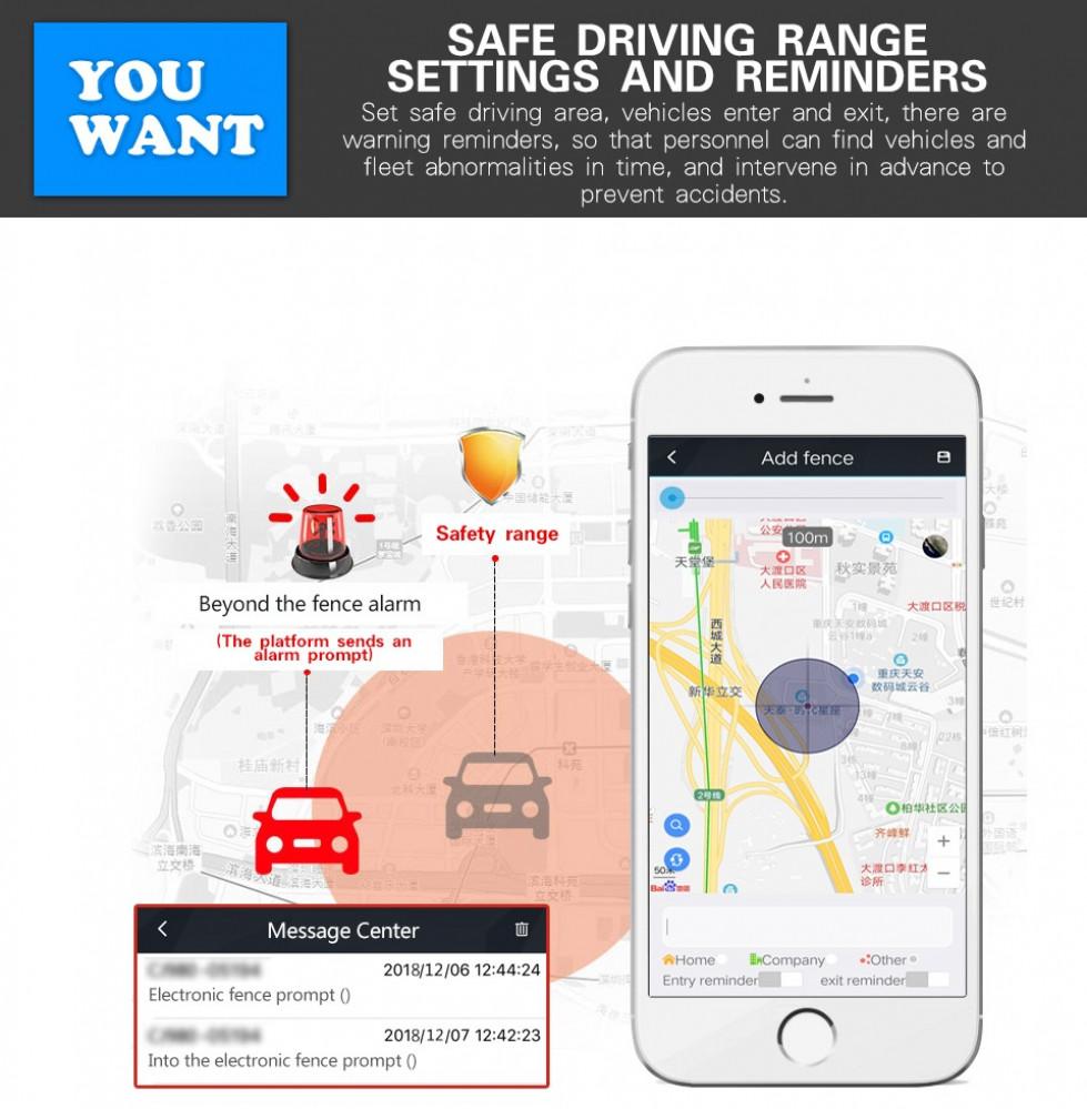 جهاز تتبع GPS السيارات والمركبات والدراجات النارية موديل يتعقب عن بعد