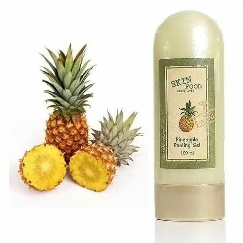 مقشر الاناناس من سكين فود skin food pineapple peeling gelمقشر الانانا