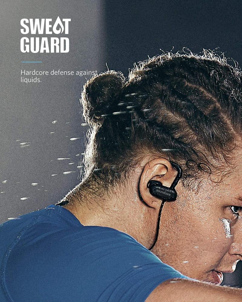 Wireless Bluetooth Headphones, Soundcore Spirit X Sports Earphones by