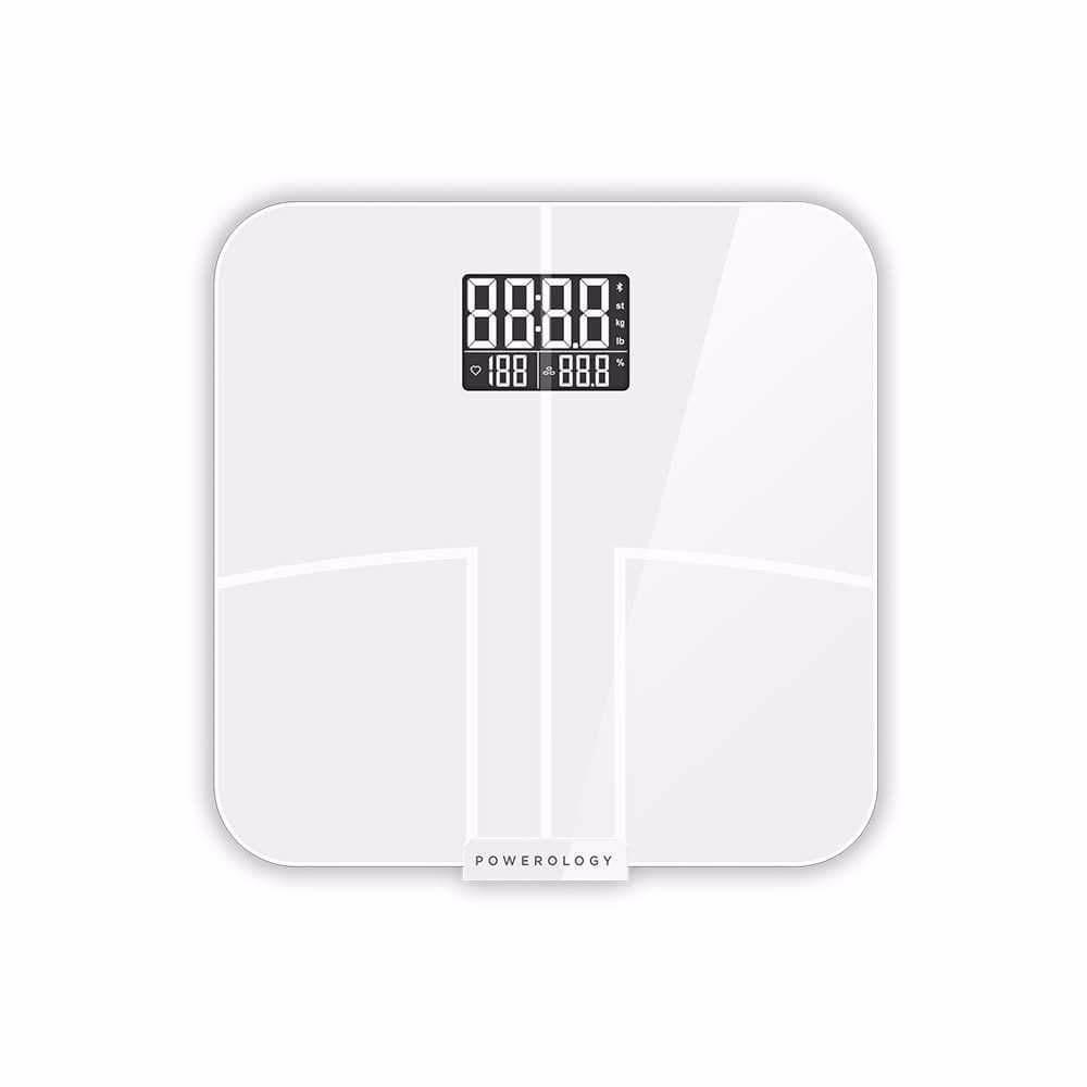 ميزان ومقياس ذكي لعرض مؤشرات الجسم