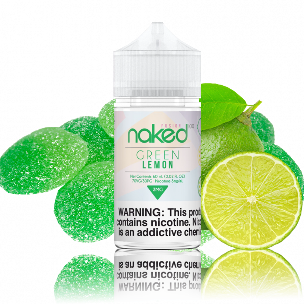Naked Green Lemon - 60ML - شيشة سيجارة نكهات VAPE فيب