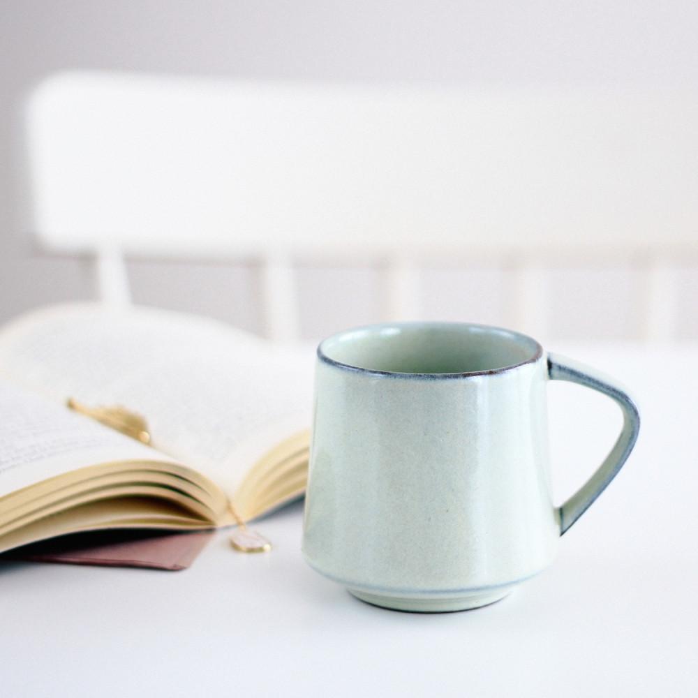 كوب قهوة كوب خزف أدوات القهوة المختصة ركن القهوة كوب لاتيه أدوات