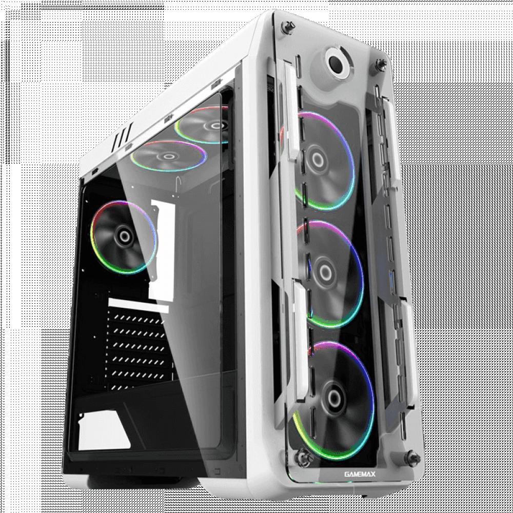 كيس صندوق حاسب قيم ماكس G510 White RGB