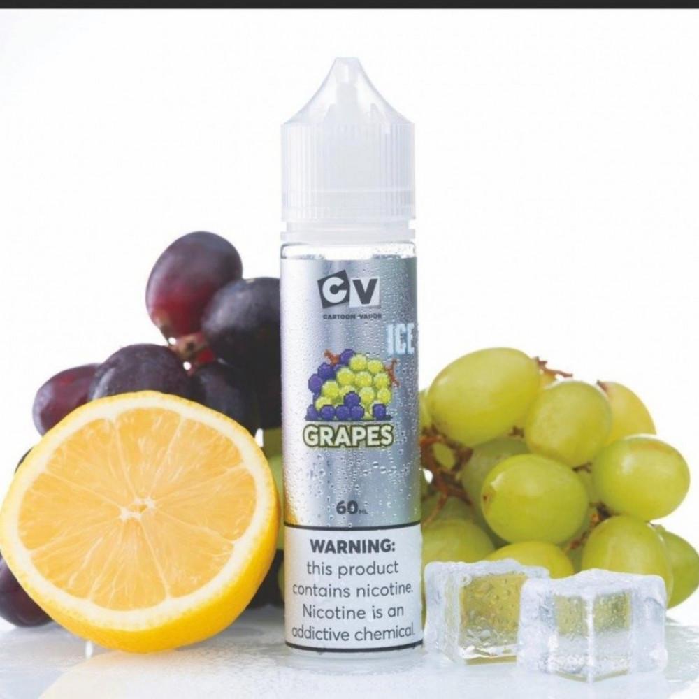 نكهة سي في - عنب ايس  - CV CRAPES ICE -  60ML
